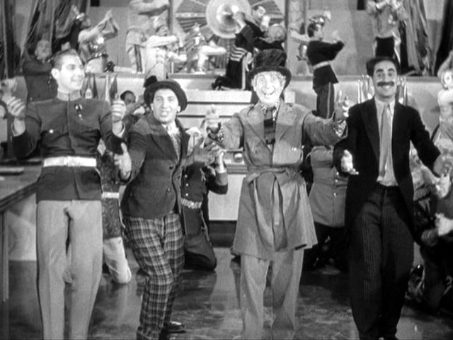 an analysis of duck soup a 1933 marx brothers movie A detailed and comprehensive film synopsis, analysis, and duck soup (1933 it's a clever contrast to see just how zany the marx brothers can be when.